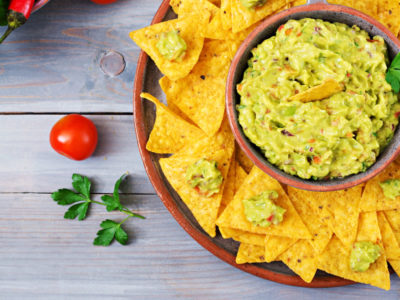 guacamole and collagen dip