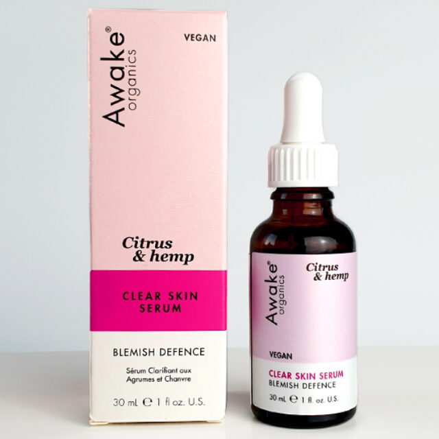awake organics clear skin serum