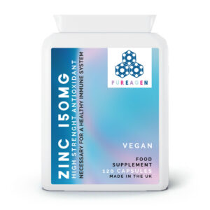 ZINC 150MG | 120 Capsules - 3 month supply