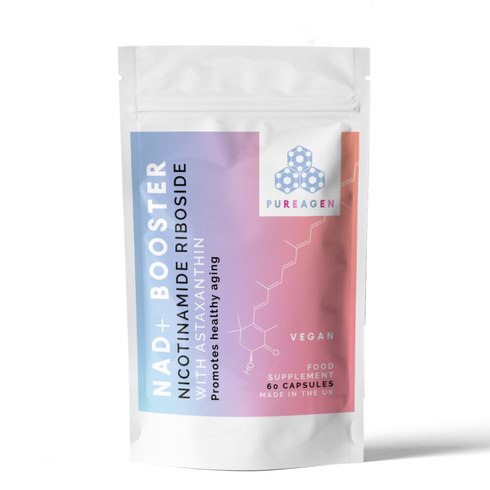 NAR+ booster Booster Nicotinamide Riboside with Astaxanthin Ⓥ